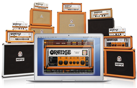 Amplitube Orange amplifier collection