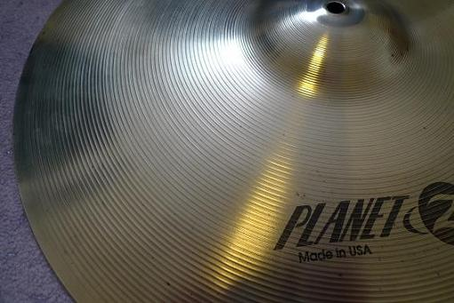 Cleaned drum cymbal