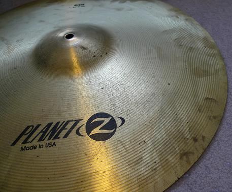 Dirty Cymbal edge