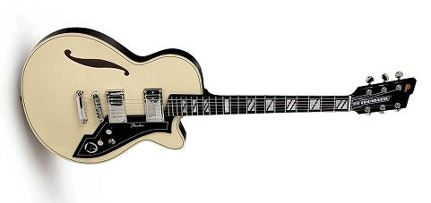 The Peerless Retromatic guitar