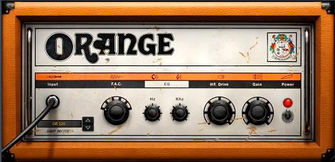 Orange amp settings