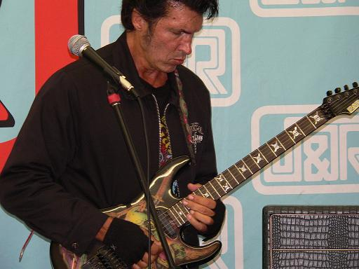 George Lynch on ESP guitar