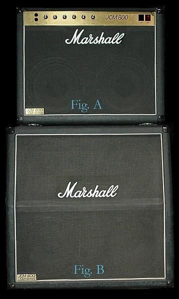 Marshall amp and cabinet