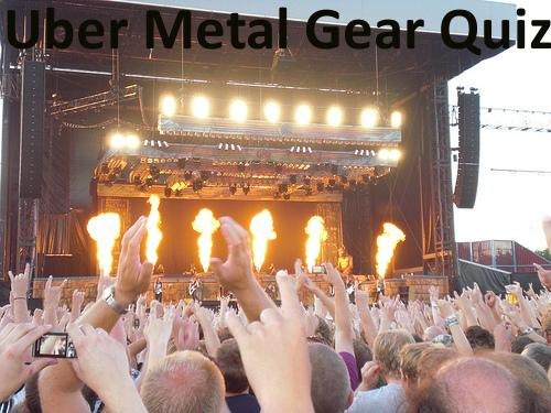 Uber Metal Gear Quiz