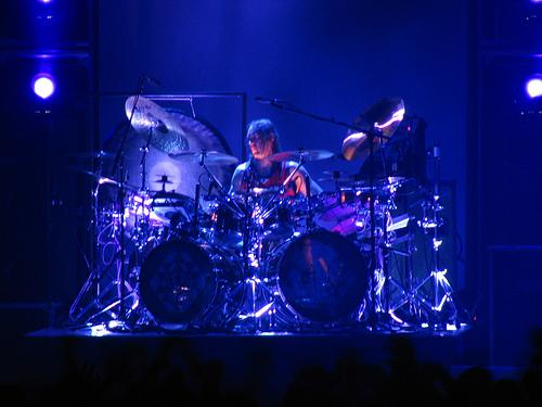 Danny Carey live with Tool