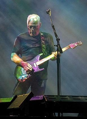 David Gilmour with Pink Floyd