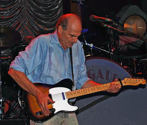 James Taylor and Telecaster guitar