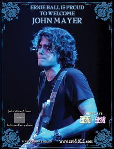 John Mayer guitar strings