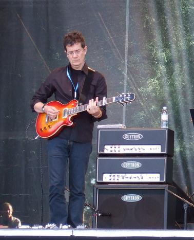Jon live on guitar