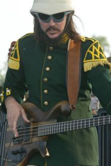 Les Claypool and his bass
