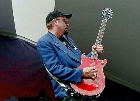 Rick on guitar