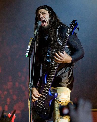Robert Trujillo on bass