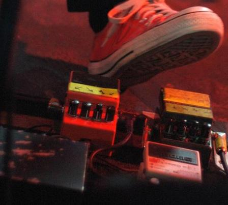 Simon with pedals