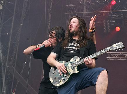Willie Adler with Lamb of God