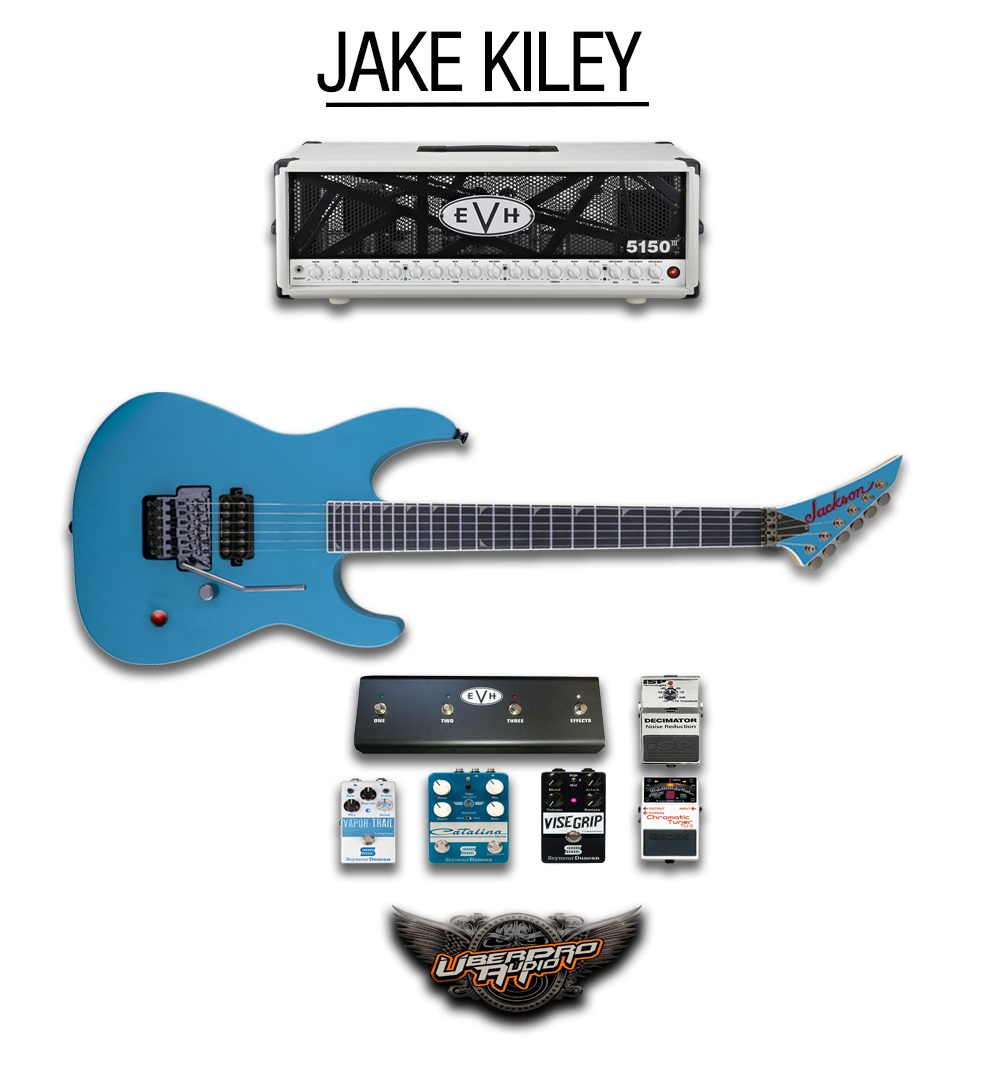 Jake Kiley guitar rig